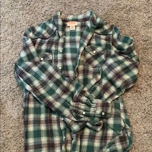 Gently used mossimo button shirt- women's